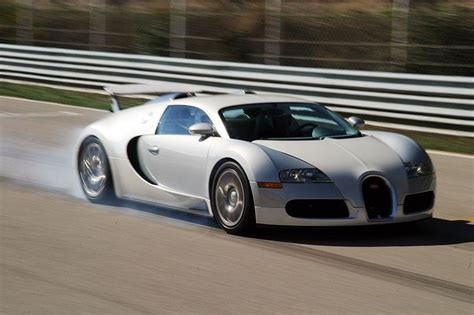 The veyron 16.4 is named after the racing driver pierre veyron and has a top speed of 253 mph (407 km/h), making it the fastest production car between 2005 and 2007. 2006 Bugatti Veyron 16.4 Review - Top Speed