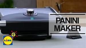 Rauchfreier Grill Lidl : panini maker spm 2000 a1 lidl espa a youtube ~ Jslefanu.com Haus und Dekorationen