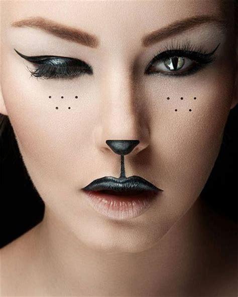halloween cat makeup  ideas  modern