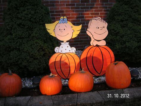 Its The Great Pumpkin Charlie Brown Lawn Cutout