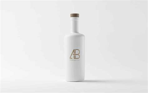 The biggest source of free photorealistic bottle mockups online! Matte White Bottle Mockup » CSS Author
