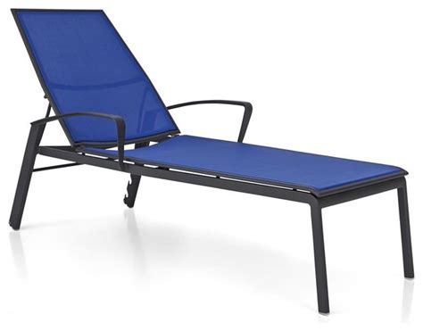mesh chaise lounge chairs largo mediterranean blue mesh chaise lounge contemporary