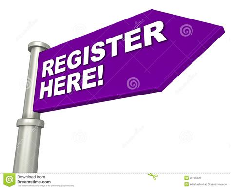 Register Stock Illustrations