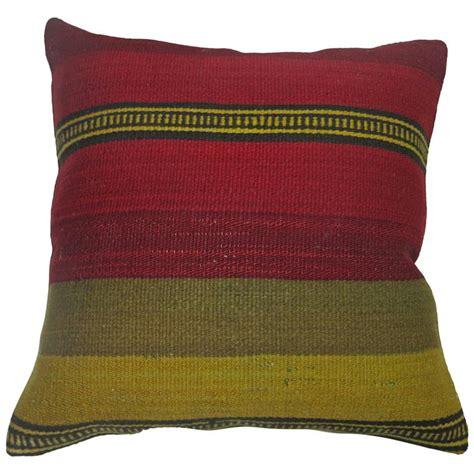 best flat pillow turkish flat weave pillow at 1stdibs