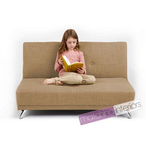 canapé pour enfants canapé lit clic clac lit enfants 2 places canapé