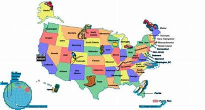 Facts State Students Schools States Map United