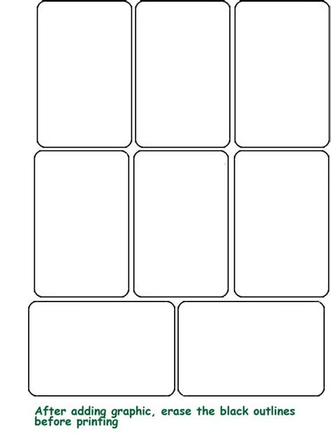 how to make a blank card template card template peerpex