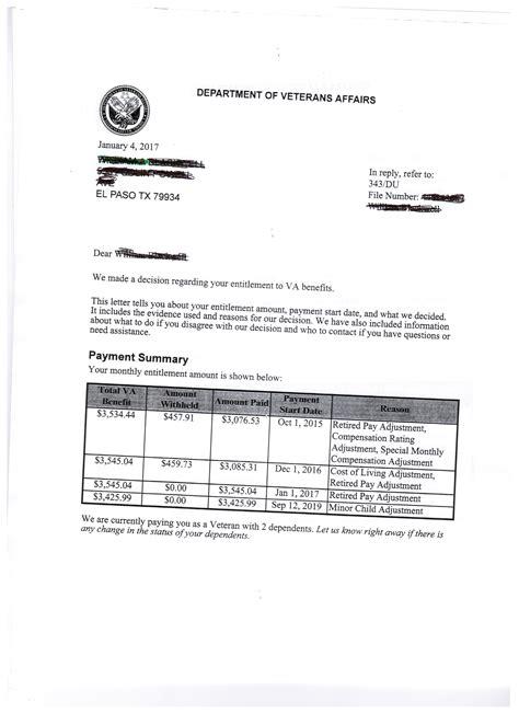 va disability compensation award letter va disability claims discussion forum 25407