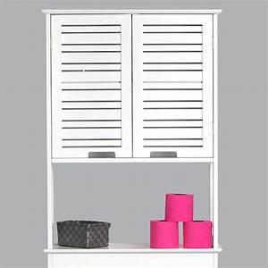 Salle De Bain Cosy : meuble dessus wc cosy blanc dessus wc eminza ~ Dailycaller-alerts.com Idées de Décoration