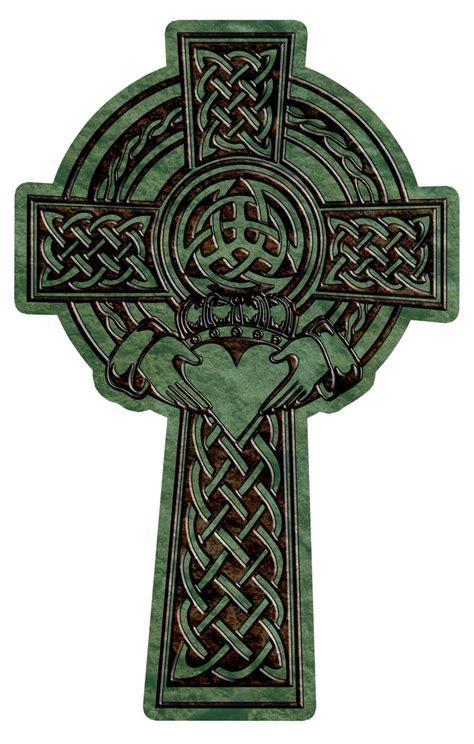 3d Tattoo Shamrock Celtic Cross