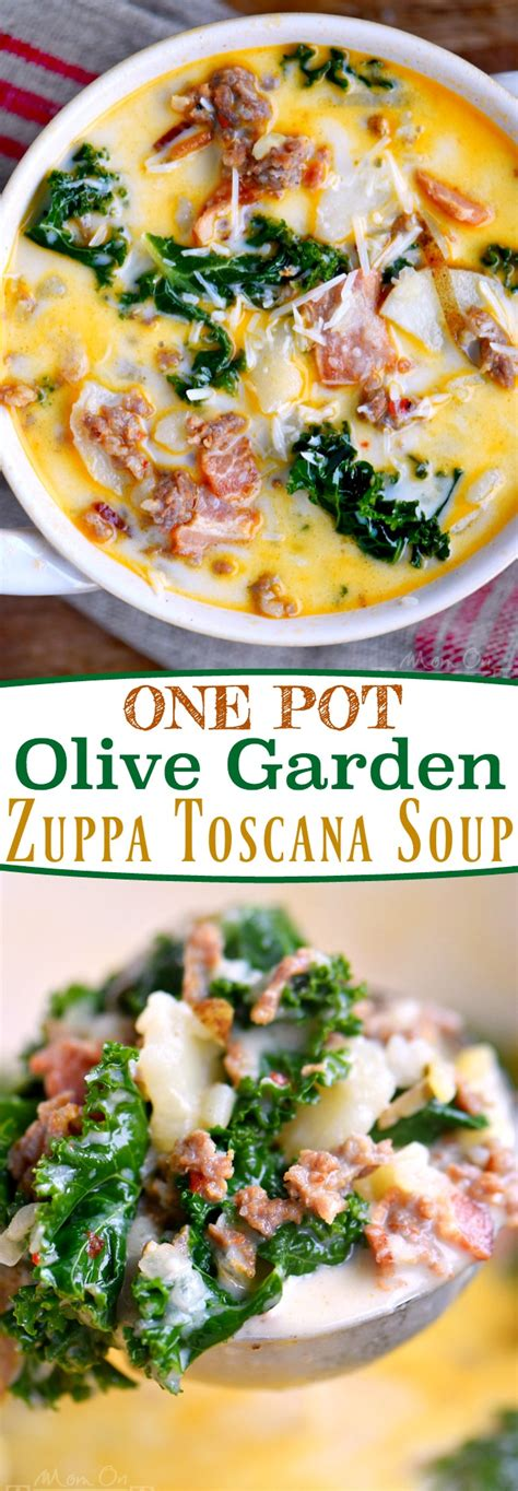 Soups From Olive Garden by One Pot Olive Garden Zuppa Toscana Soup On Timeout
