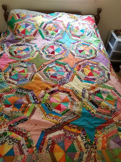 Quilt Antique 60s Bought Its 70s Quilting
