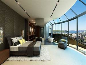 Luxury Master Bedroom With A View Sydney Penthouse