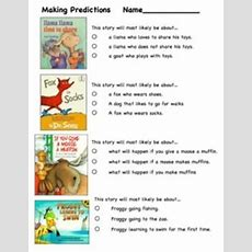 Making Predictions Using Book Covers  Live2learn By Mrs Stanford Teacherspayteacherscom