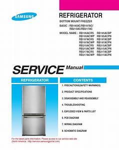 Samsung Rb217acrs Rb217acwp Rb217acbp Rb217acpn