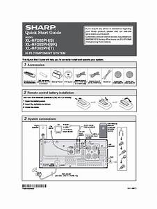 Sharp Xl  Operation Manual