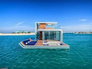 Dubai's Floating Seahorse villa at Heart of Europe resort