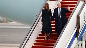 Trump lands in China for talks with Xi amid North Korea ...