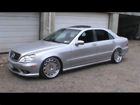 bagged mercedes s class 2000 mercedes benz s class s500 vip dropped bagged youtube