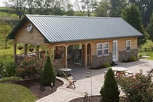 pole barn interior designs custom buildings timberline With building a small pole barn