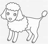 Clipart Poodle Coloring Miniature Poodles Puppy Pngkit sketch template
