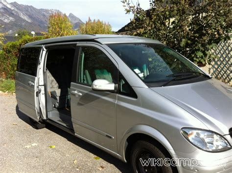 location camping car van mercedes marco polo nice rides