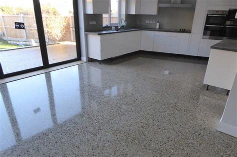 kitchens with polished concrete floors concrete floors for kitchens desainrumahkeren 8799