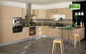 Cuisine équipée Bois : quand le bois se r invite dans nos cuisines visitedeco ~ Premium-room.com Idées de Décoration