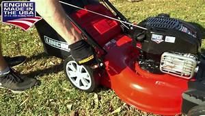 Lincoln L20b 2 8kw 20 U0026quot  Lawn Mower With Briggs  U0026 Stratton 4