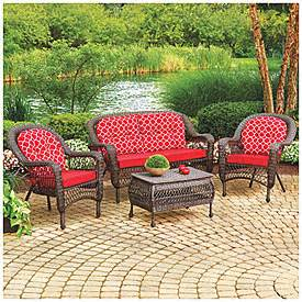 wilson fisher 174 nantucket 4 piece seating set with