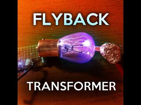 flyback transformer with 2x 2n3055 youtube