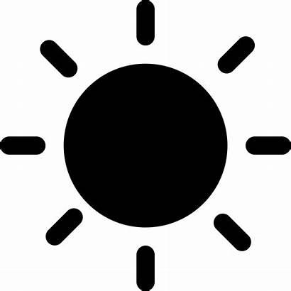 Sun Symbol Solid Icon Svg Vector Icons