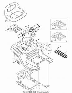 Mtd Lt4216  13am79ks897   2014   13am79ks897  2014  Parts Diagram For Seat  U0026 Fender