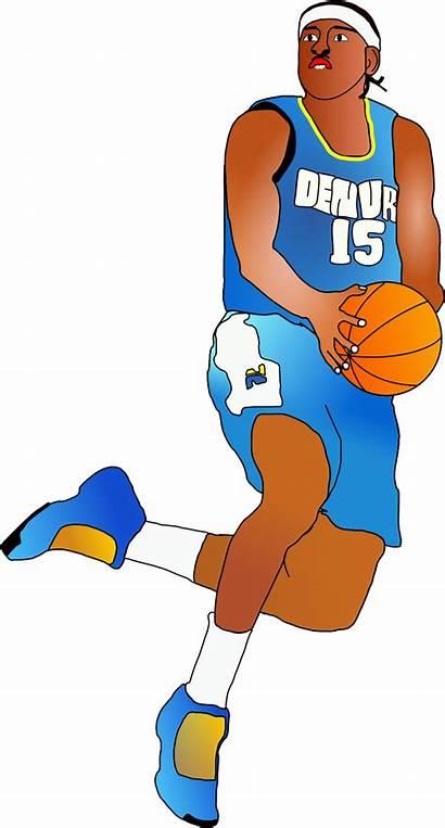 Basketball Player Cartoon Clipart Clip Animated Cliparts