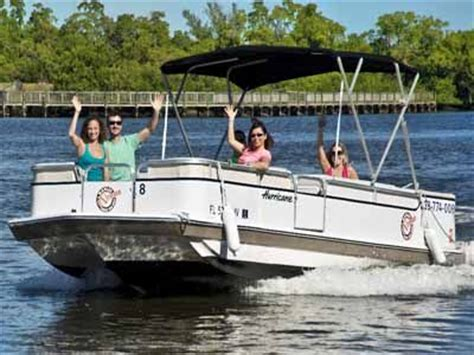 Small Boat Rentals Naples Fl by 1000 Ideas About Pontoon Boat Rentals On