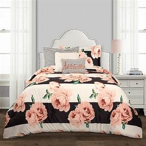 Amara, Floral, 5-piece, Comforter, Set, -, Walmart, Com