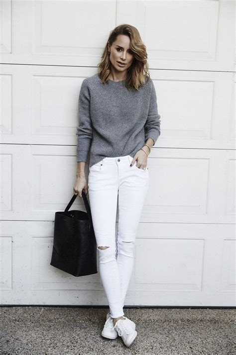 Best 25+ White jeans outfit ideas on Pinterest | White pants outfit spring work White pants and ...