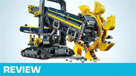 Review Lego Schaufelradbagger (42055) Youtube