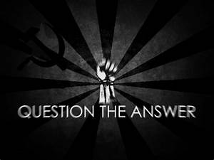 Communism text fists grayscale The Question wallpaper ...