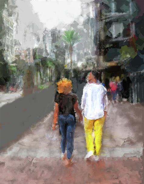 Romantic Couple Digital Art By Eduardo Tavares
