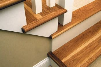 wood   stair tread molding/nosing options   Home