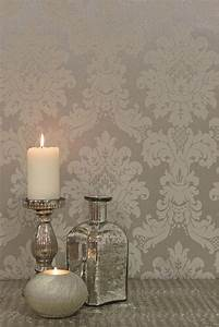 Best 25 damask wallpaper ideas on pinterest grey damask for What kind of paint to use on kitchen cabinets for papier millimetre