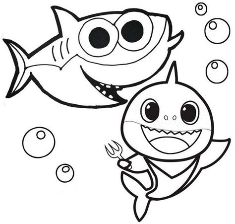 Baby Shark Pinkfong Coloring Pages is the first book to