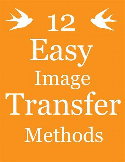 Transfer Methods Easy Diy Projects Graphics