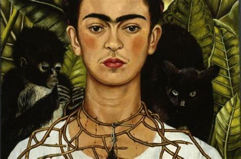 Frida Kahlo Selbstbildnis Mit Dornenhalsband by Frida Kahlo Selbstbildnis Mit Dornenhalsband 1940