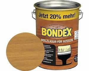 Bondex Dauerschutz Lasur Grau : bondex holzlasur kiefer 4 8 l 20 gratis bei hornbach ~ Watch28wear.com Haus und Dekorationen