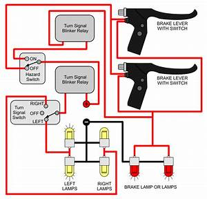 Motorcycle Turn Signal Flasher Wiring Diagram