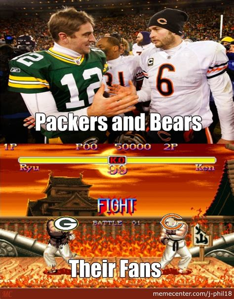 Packers Bears Memes - bears and packers by j phil18 meme center