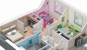 Plan interieur maison 3d gratuit for Plan maison gratuit 3d 1 plan maison 3d gratuite marseille 111 youtube