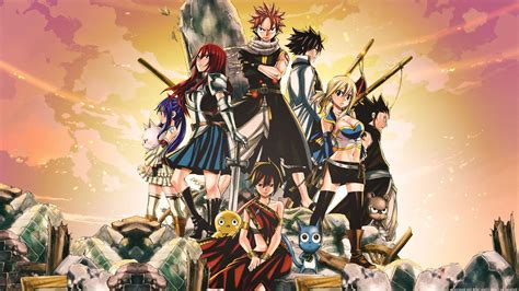 anime fairy tail wallpapers wallpaper cave